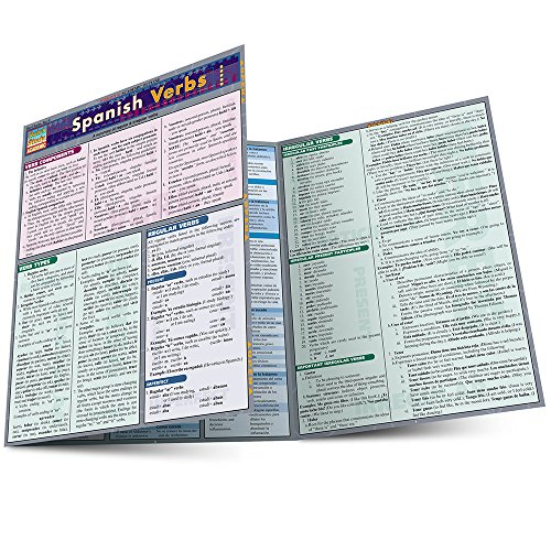 SPANISH VERBS LAMINATED STUDY GUIDE