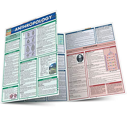 ANTHROPOLOGY LAMINATED STUDY GUIDE