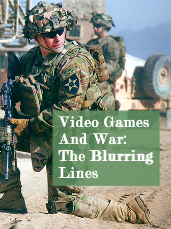 Video Games And War: The Blurring line