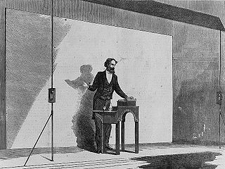 Charles Dickens as He Appears when Reading, Charles A. Barry, 1867 [Public Domain], via Wikimedia Commons