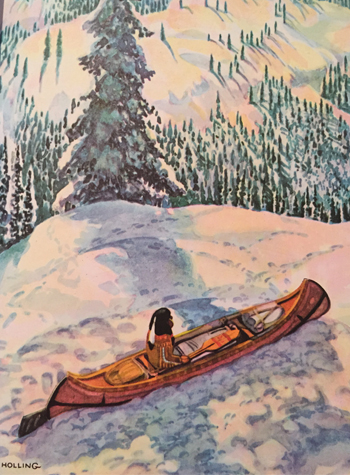 Paddle in Snow (350x475)