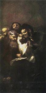 Francisco Goya, Men Reading