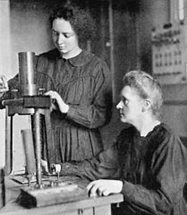 Irene and Marie Curie