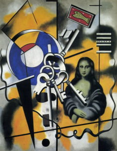 Fernand Leger's Mona Lisa with the Keys