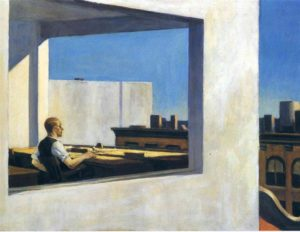 Edward Hopper_Office in a Small City