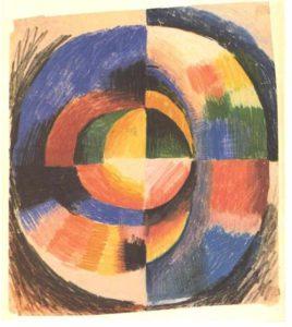 August Macke_Colour Circle