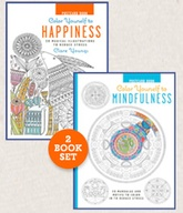 Color Yourself to Happiness/Color Yourself to Mindfulness Postc