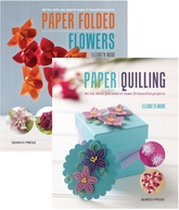 Paper Quilling/Paper Folded Flowers-2 volume set