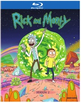 Rick and Morty: The Complete First Season - Blu-ray