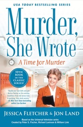Murder She Wrote: A Time for Murder (Large Print)