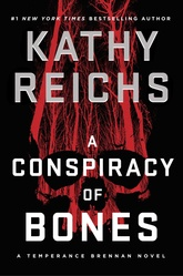 A Conspiracy of Bones (Large Print)
