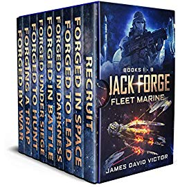 Jack Forge – Fleet Marine (Boxed Set, Books 1 – 9)
