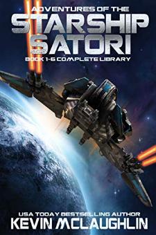 Adventures of the Starship Satori (Boxed Set, Book 1 – 6)