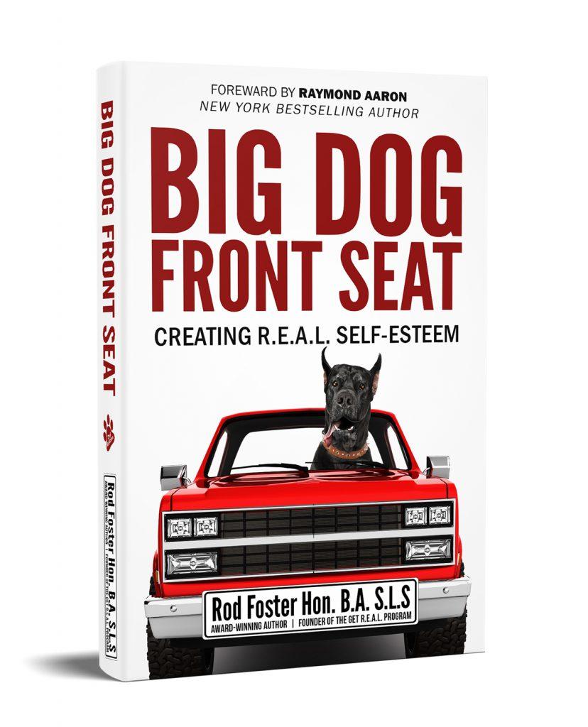 Big Dog Front Seat
