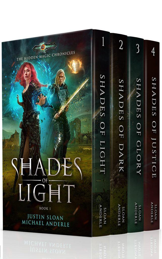The Hidden Magic Chronicles (Boxed Set)