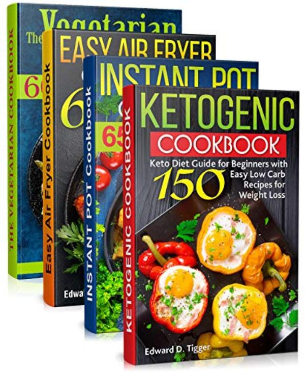 Healty Food Cookbooks 4 In 1