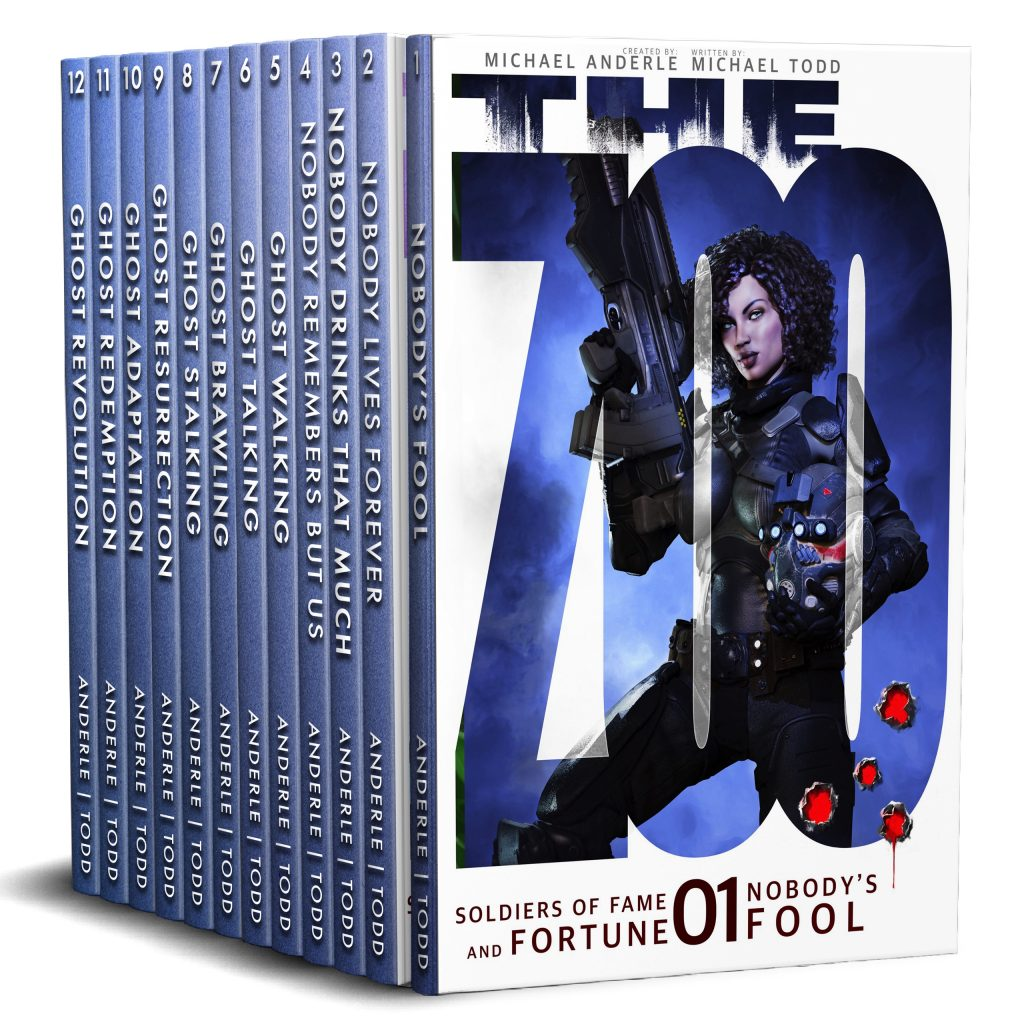 The Zoo: Soldiers of Fame and Fortune (Boxed Set, Full Series Omnibus)