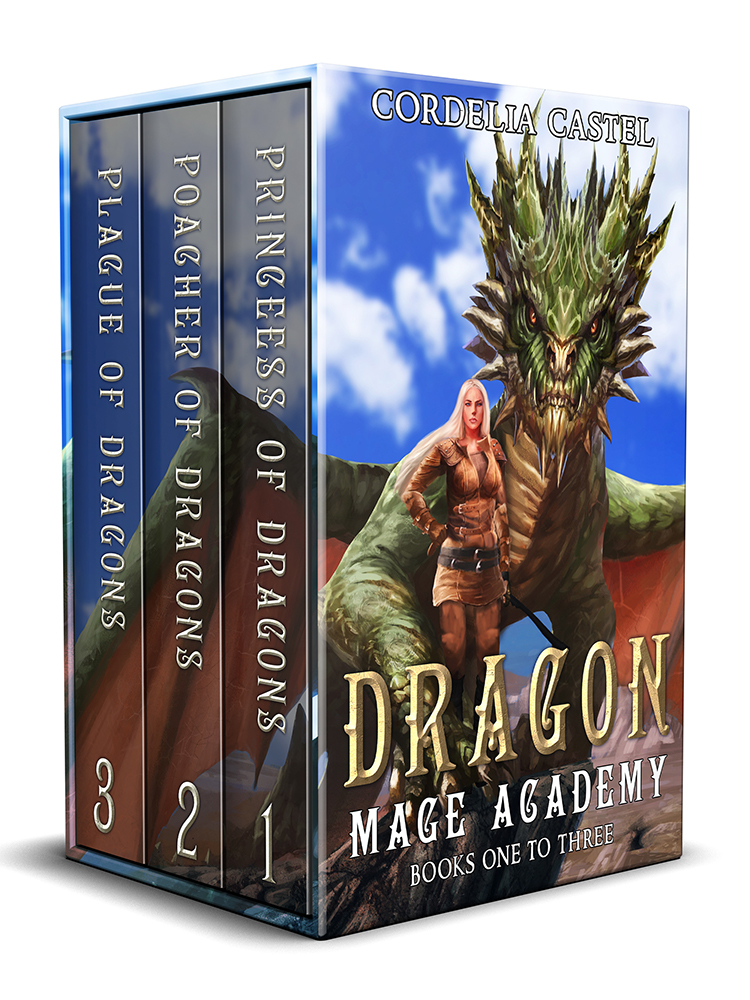 Dragon Mage Academy (Complete Series: Books 1-7)