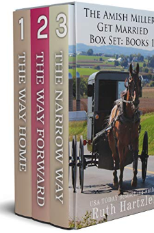 The Amish Millers Get Married (Books 1-3)