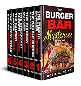 The Burger Bar Mysteries (Boxed Set, Books 1-6)