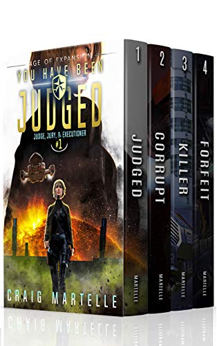 Judge, Jury, & Executioner (Boxed Set, Books 1 – 4)