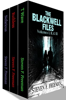 The Blackwell Files (Volumes 1-3)