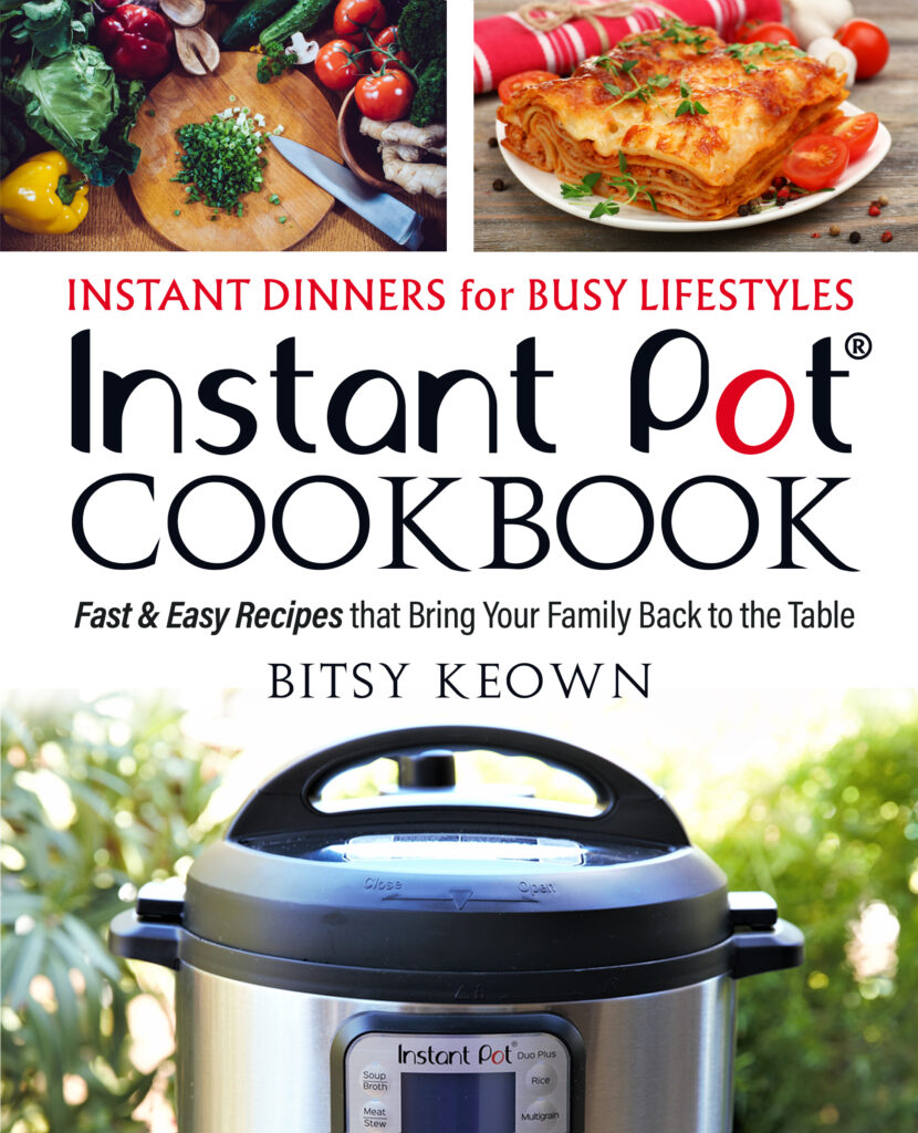 Instant Pot Cookbook: Instant Dinners for Busy Lifestyles
