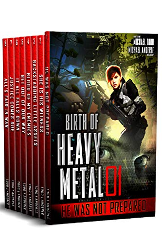 Birth of Heavy Metal (Complete Boxed Set, Books 1-8)