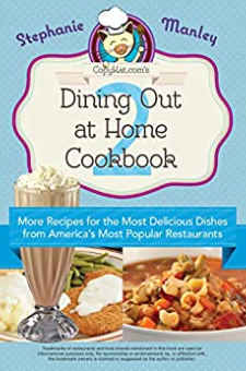Dining Out At Home Cookbook