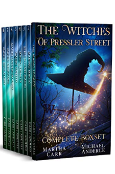 The Witches of Pressler Street (Complete Boxed Set)