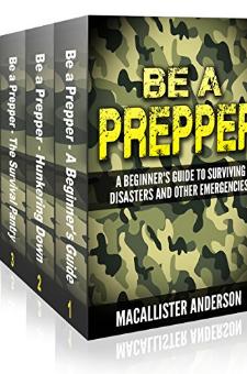 Be A Prepper (4 Book Set)