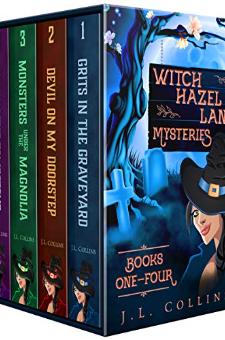 Witch Hazel Lane Mysteries (Books 1-4)