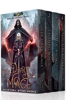 Hand of Justice Boxed Set (Books 1-4)