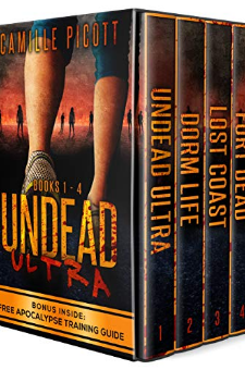 Undead Ultra (Books 1-4)
