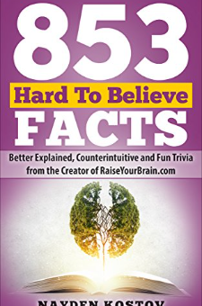 853 Hard To Believe Facts