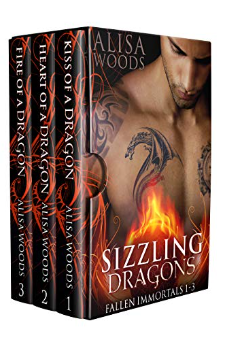 Sizzling Dragons (Books 1-3)