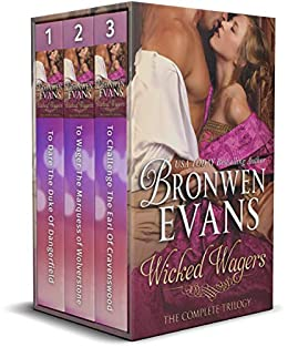 Wicked Wagers by Bronwen Evans