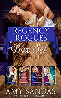 Regency Rogues (Boxed Set) by Amy Sandas