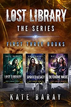 Lost Library Series by Kate Baray