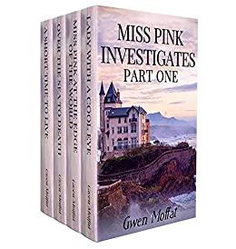 Miss Pink Investigates by Gwen Moffat