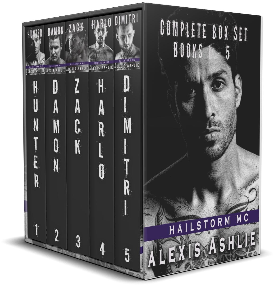 Hailstorm MC (Boxed Set)
