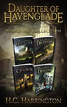 Daughter of Havenglade Boxed Set Collection by H.C. Harrington