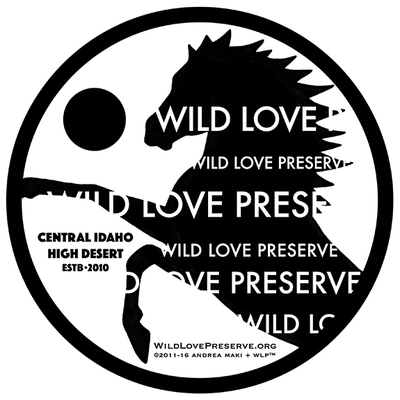 Wildlovepreserve t shirt bw72dpi