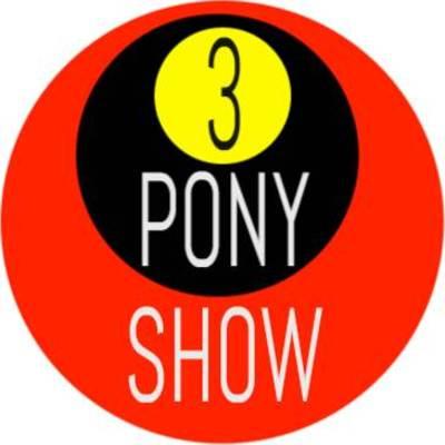 3 pony show logo tricolore
