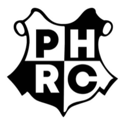Phrc black on white