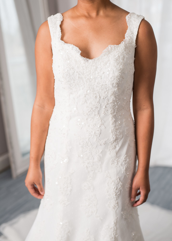 David's bridal size 8 - $665 - (26% OFF)