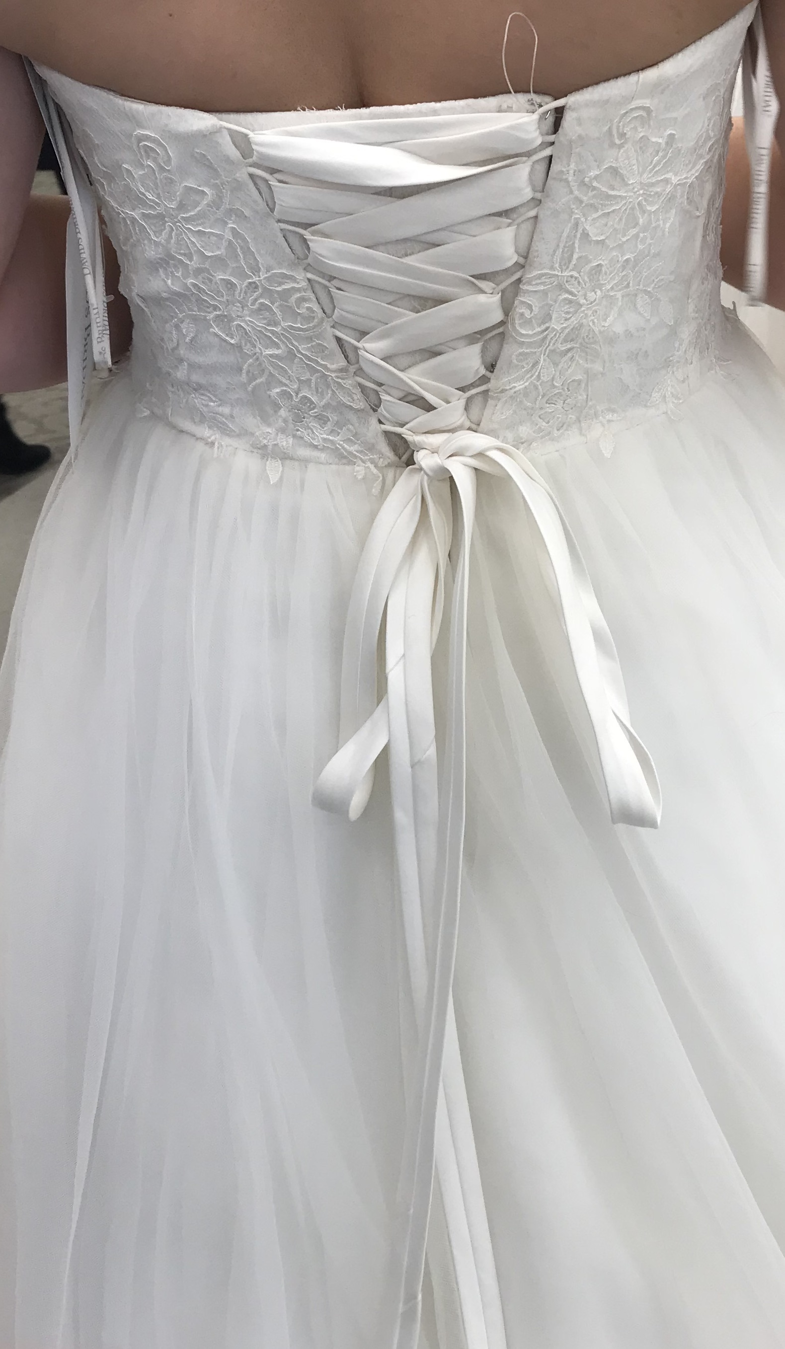 David's bridal - WG3633 size 8 - $500 - (9% OFF)