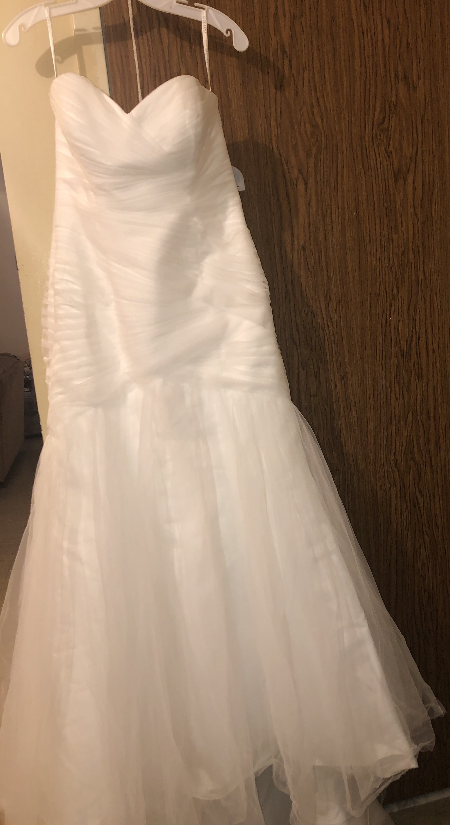 David bridal - WG3791 size 12 - $325 - (35% OFF)