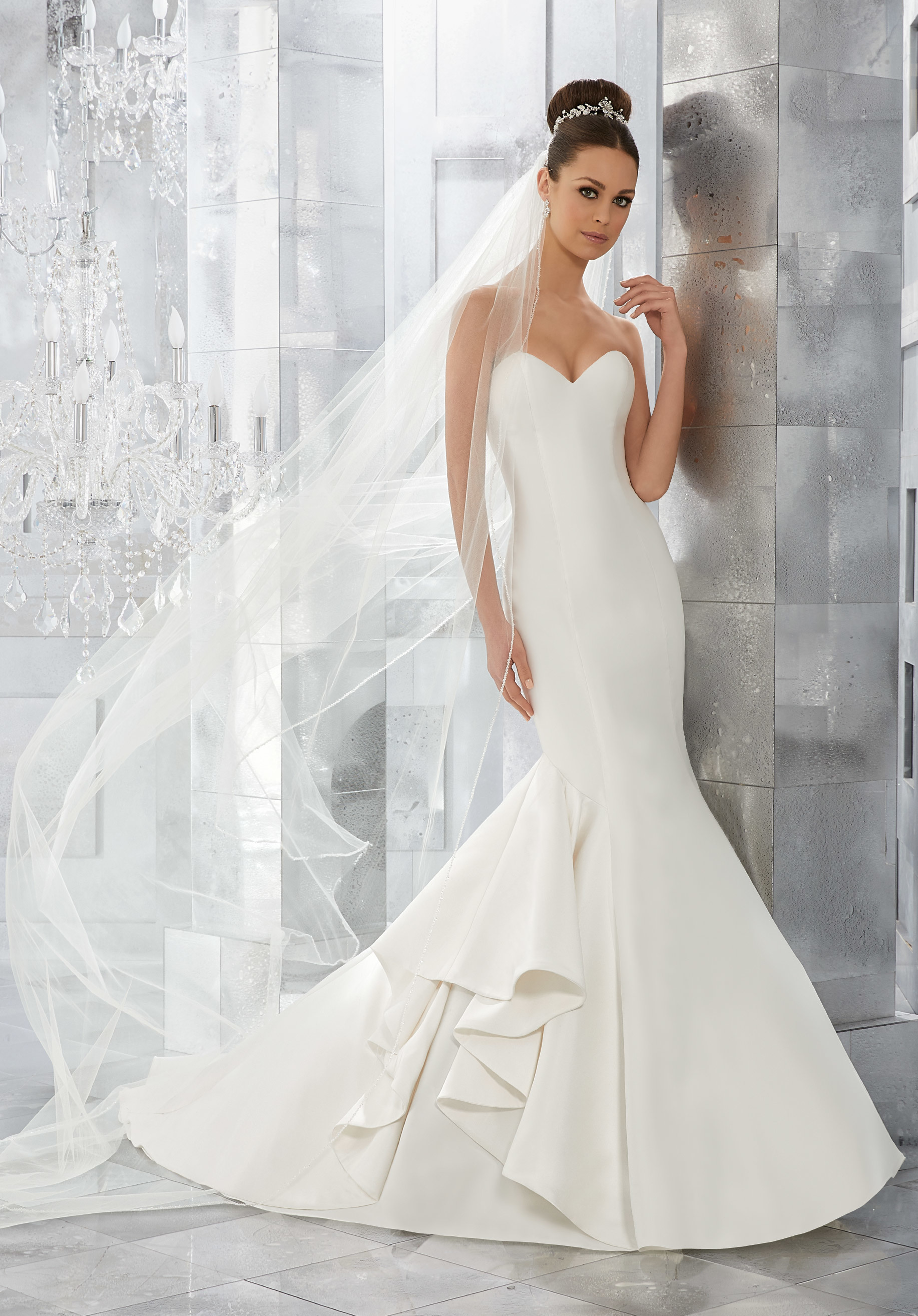 Mori lee - 5563 size 10 - $600 - (50% OFF)