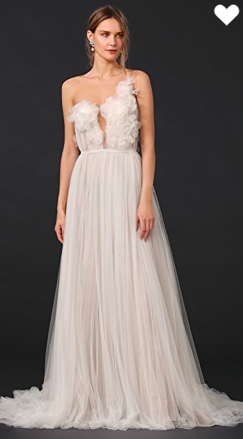 Marchesa - Heather Hand Draped Tulle Gown size 14 - $2000 - (67% OFF)
